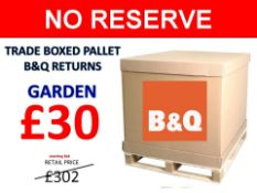 + VAT Grade U Trade Pallet Quantites Of B & Q Returns - Garden - Retail Value £302.16 ***No