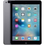 + VAT Grade B 16Gb Apple iPad Air 1 - Space Grey - 9.7 Inch