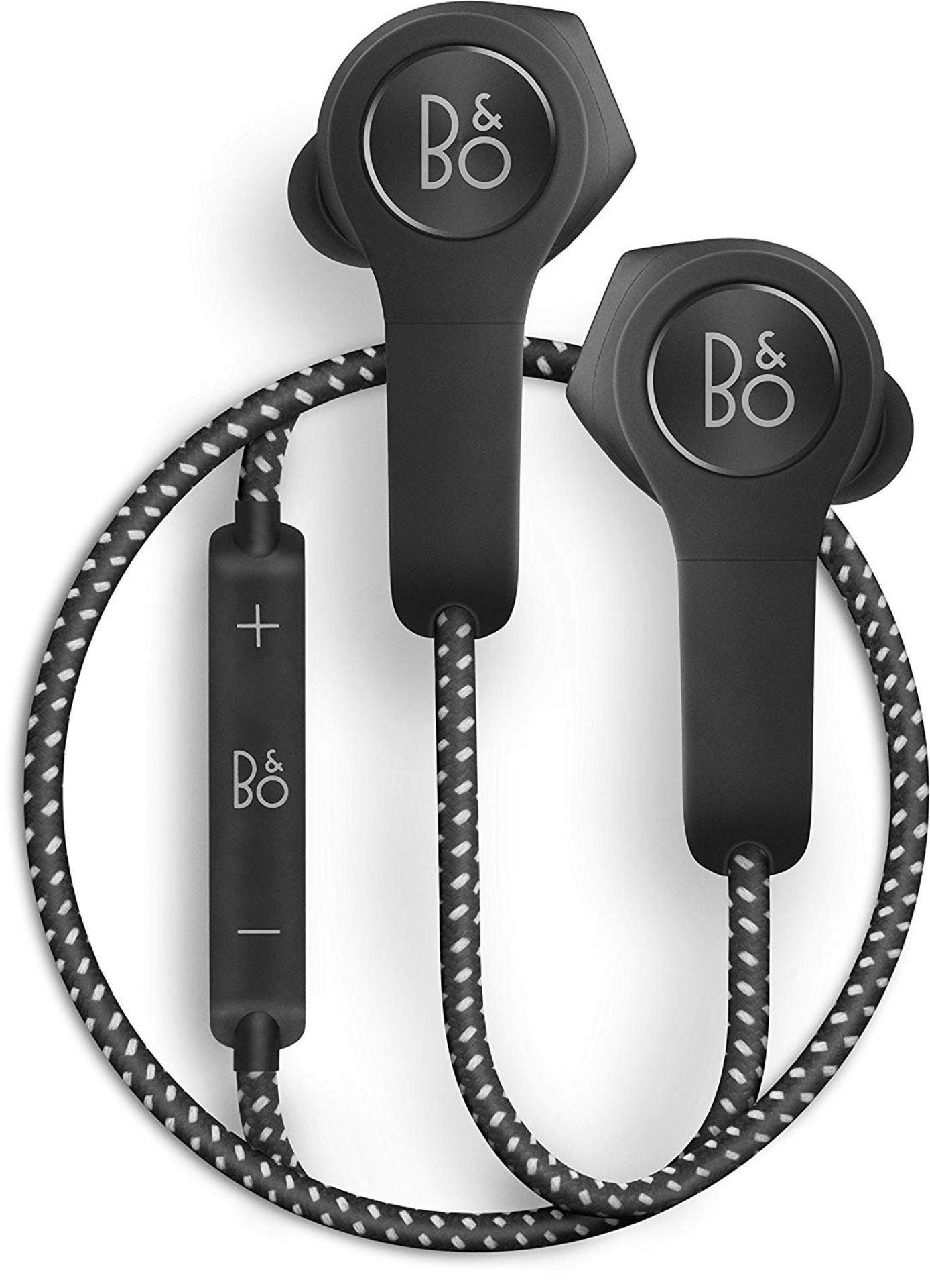 + VAT Grade A Bang & Olufsen Beoplay H5 Black Wireless Bluetooth Earphones