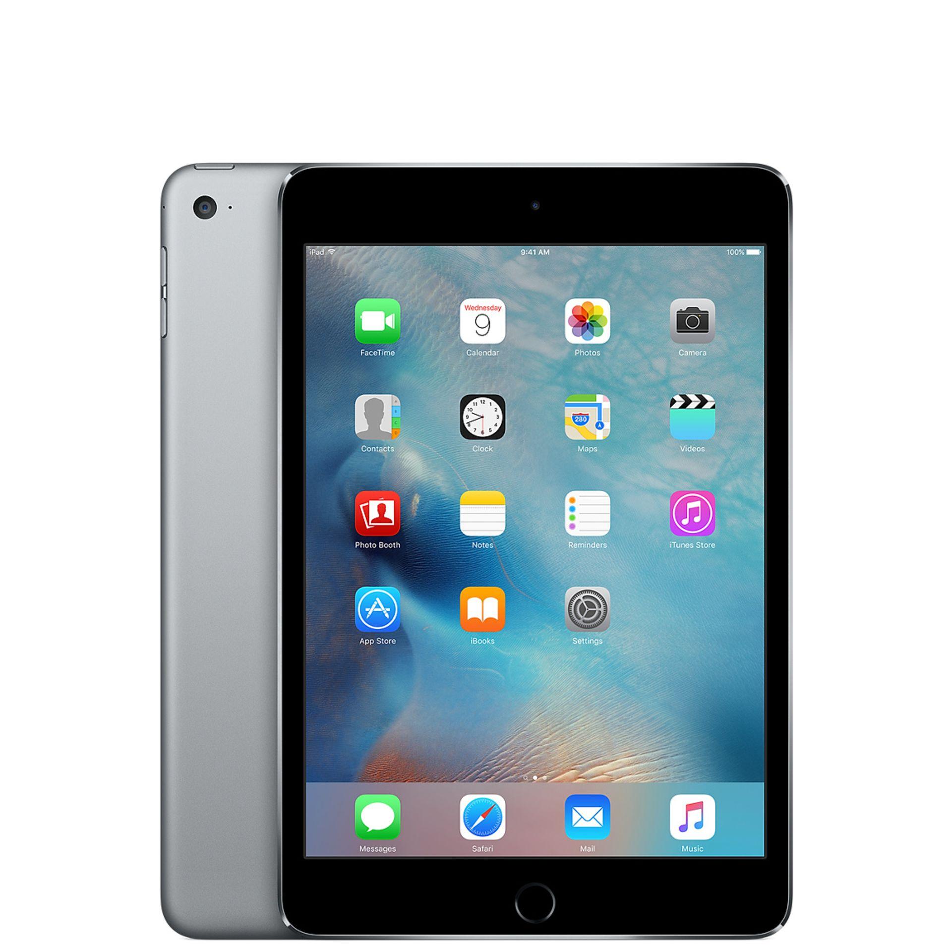 + VAT Grade B 16Gb Apple iPad 4 - 9.7 Inch Screen - Space Grey