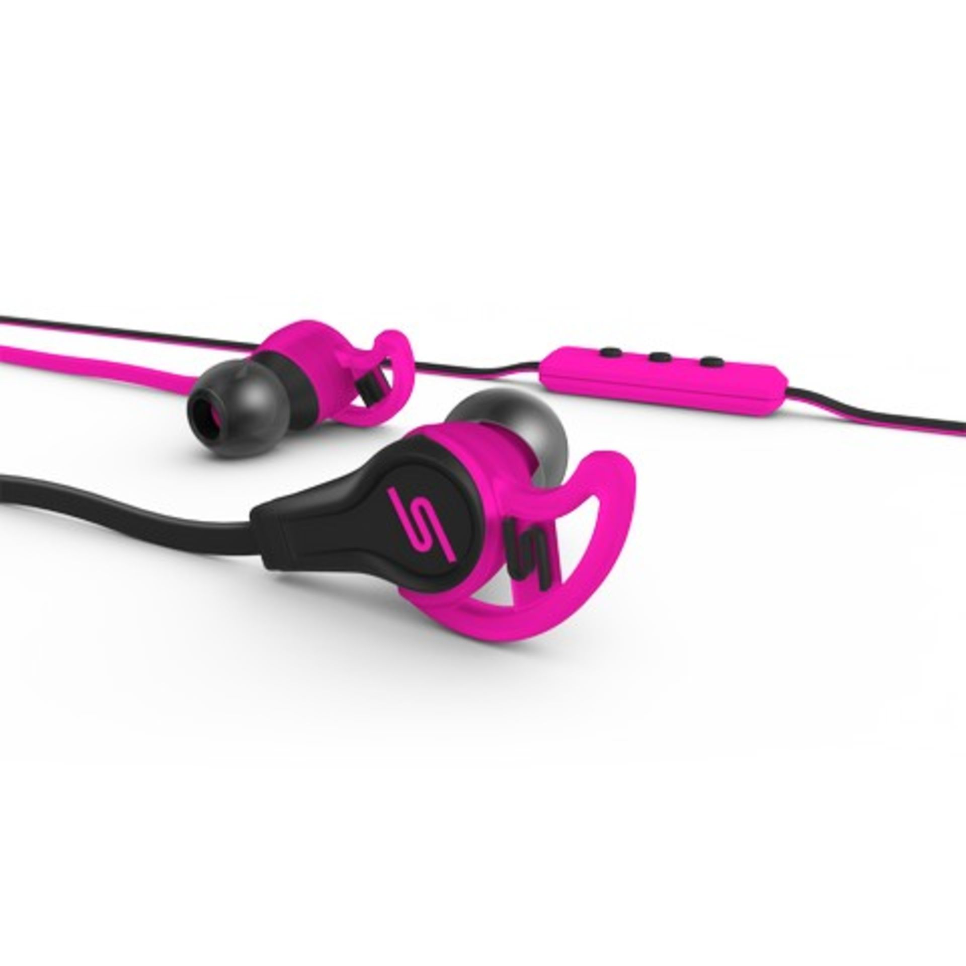 + VAT Brand New SMS Audio Street By 50 Cent Sport Earphones - RRP £59.99 - Professionally Tuned