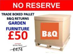 + VAT Grade U Trade Pallet Quantites Of B & Q Returns - Electrical - Retail Value £1553.86 ***No