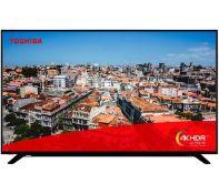 + VAT Grade A 55 Inch Toshiba 55U2963DB Smart 4K Ultra HD HDR LED TV - Freeview HD - 3 x HDMI - 4K