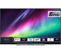 + VAT Grade A 55 Inch Toshiba 55U7863DB Smart 4K Ultra HD HDR LED TV - 3 x HDMI Ports - 4k