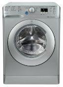 + VAT Grade A/B Indesit BWA81483XSUK 8Kg 1400 Spin Washing Machine - 16 Programmes - 30 Minute