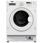 + VAT Grade A/B Bush WDDFINT 8Kg/6Kg 1400 Spin Intergrated Washer Dryer - 11 Washing Programmes - A