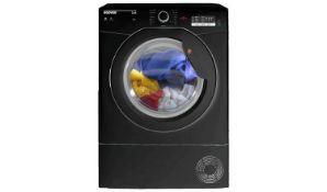 + VAT Grade A/B Hoover HCL8LGB 8Kg Condenser Tumble Dryer - 15 Progammes - Sensor Dry Technology -
