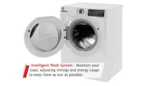 + VAT Grade A/B Hoover H3WS495TACE 9Kg 1400 Spin Washing Machine - A+++ Energy Rating - 17