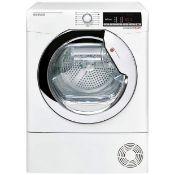+ VAT Grade A/B Hoover DXO C9TCE 9Kg Condenser Tumble Dryer - 16 Programmes - 9Kg Drying Capacity -