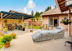 + VAT Brand New Chelsea Garden Company Grey Rattan Aluminium Frame Sunbed With Grey Cushions - Item