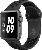 + VAT Grade A Apple Watch Series 3 Space Grey 38mm Nike Edition + Cellular (Includes Genuine Apple