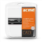 + VAT Brand New ACME Vivid HD PC Webcam - USB 2.0 - 15fps - includes Drivers CD