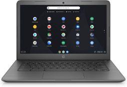 + VAT Grade A HP Chromebook 14-DB0003NA - AMD A4 CPU - 4GB Ram - 32Gb Storage