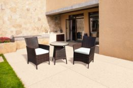 + VAT Brand New Chelsea Garden Company Two Person Dining Set -Item Is Immediatley Available -