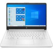 + VAT Grade A HP 14S-FQ0015na Laptop - AMD Ryzen 3 Processor - 4GB RAM - 128GB SSD - Windows 10 -