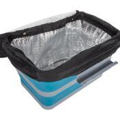 + VAT Brand New 18 Litre Folding Cool Box - Camping/Picnic/BBQ
