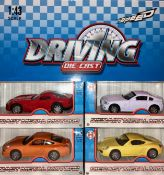 + VAT Brand New 1/43 Scale Diecast Metal Motor Model Car - Models May Vary