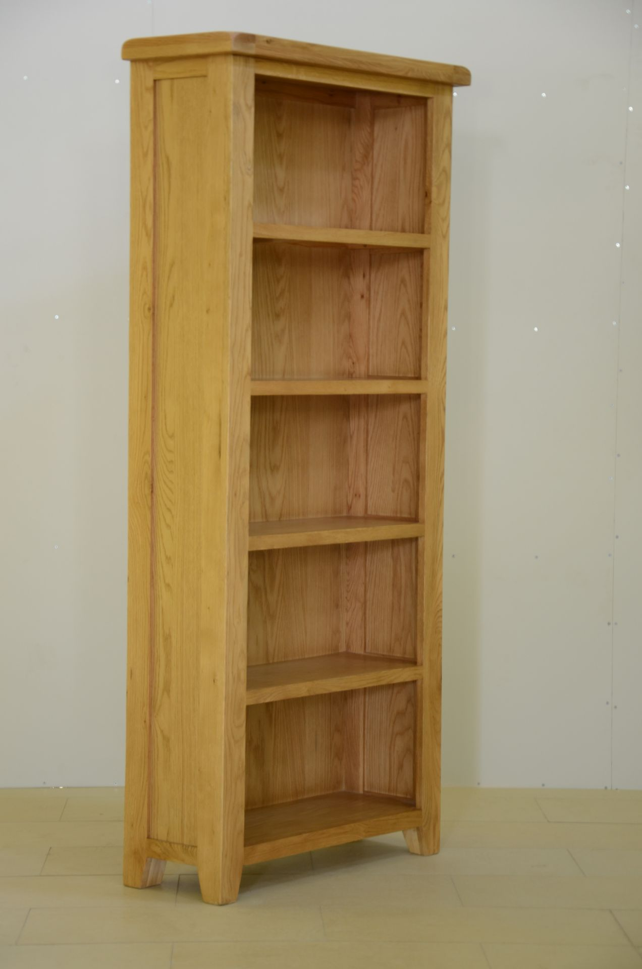 """+ VAT Brand New CS Designs """"Daylesford"""" Single Wardrobe With Natural Oak Tops With Solid Hardwood - Image 2 of 2"""