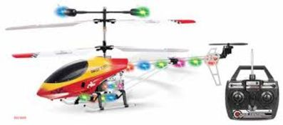 + VAT Brand New Predator 3 Channel R/C Helicopter Gyro For Added Control 75.5 cm long RRP139.99