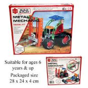 + VAT Brand New Meccano Type Construction Kit - Includes Construction Tools