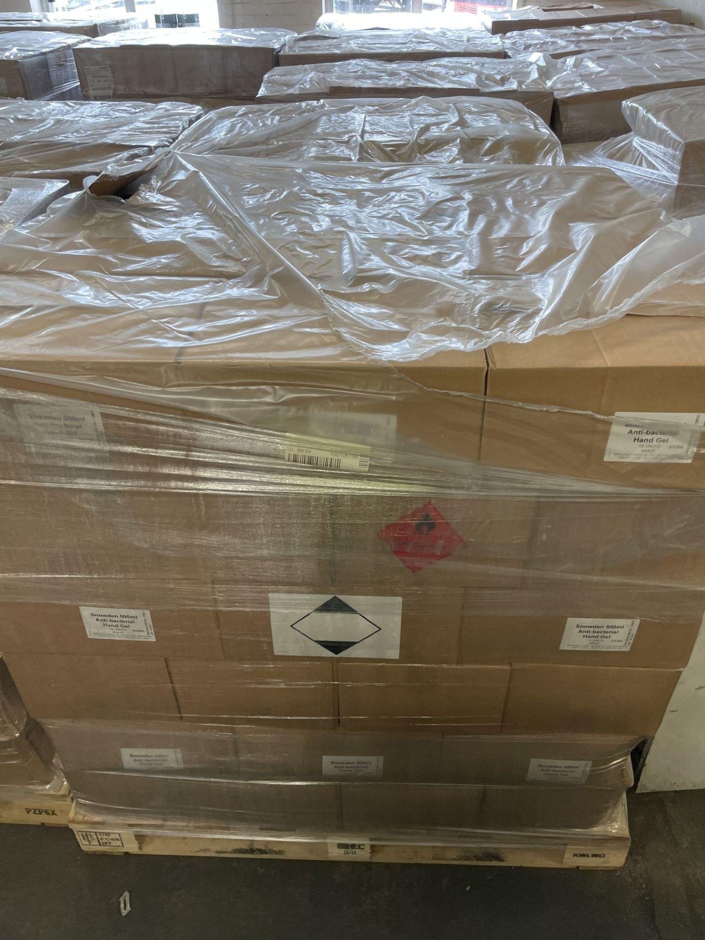 + VAT Brand New 500ml x 650 Units - 1 Pallet - Hand Sanitiser