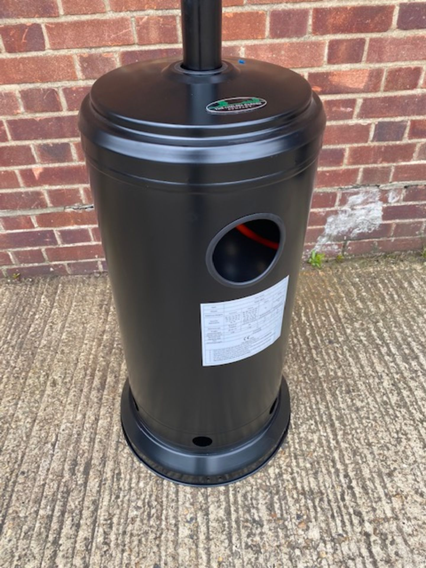 + VAT Brand New Chelsea Garden Company Garden Patio Heater With Cover - Item Is Available From - Image 8 of 9