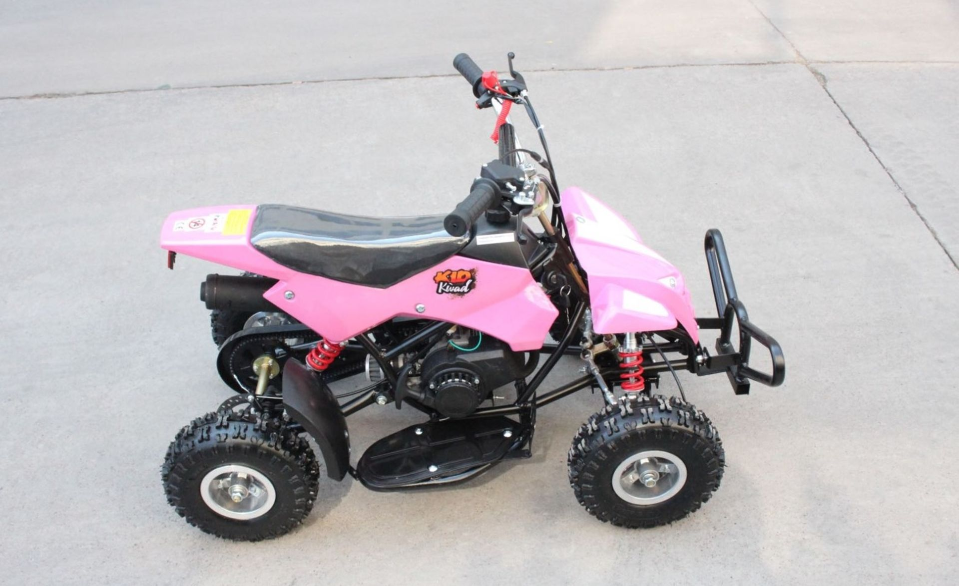 + VAT Brand New 50cc Mini Quad Bike FRM - Colours May Vary - Picture May Vary From Actual Item - Image 3 of 9
