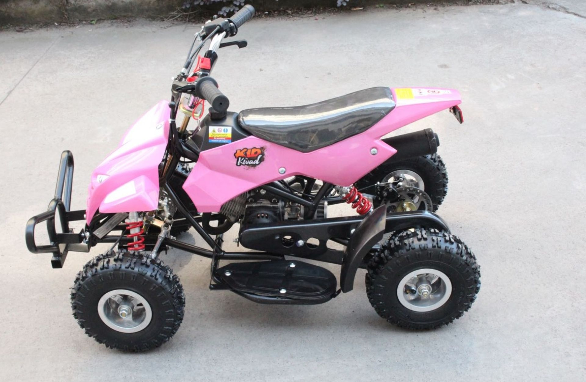 + VAT Brand New 50cc Mini Quad Bike FRM - Colours May Vary - Picture May Vary From Actual Item - Image 2 of 9
