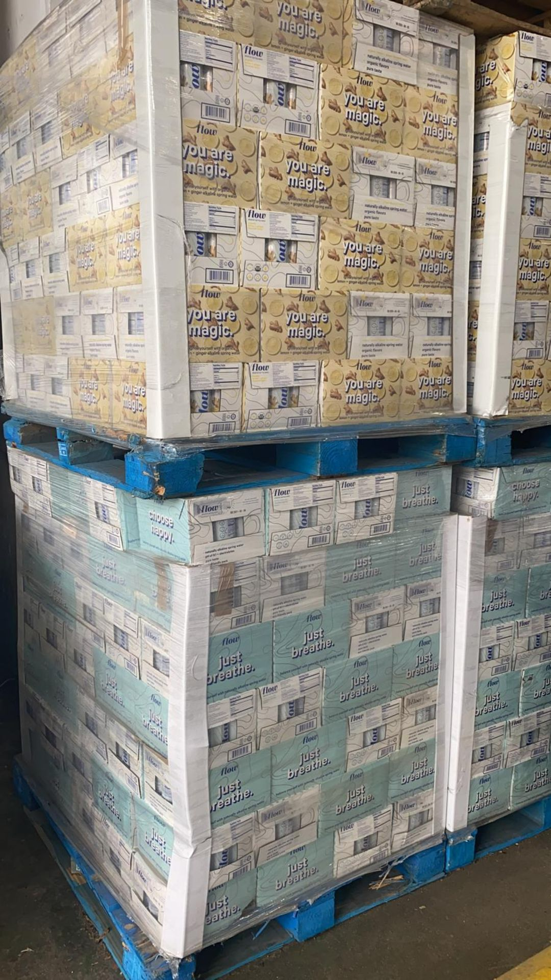 + VAT Pallet Of 112 Cases Of Flow Akaline Spring Water - Ph8.1 - Eco Friendly Pack - BBE 03 2021 - Image 5 of 5