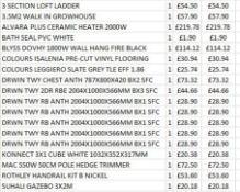 + VAT Grade U Trade Pallet Quantites Of B & Q Returns - Electrical - Retail Value £934