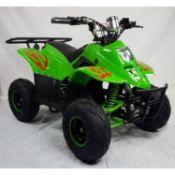 + VAT Brand New Electric Quad Bike 48v - 800w Brushless Motor 20a 48v Battery - 16 x 8.7 Tyres Rear