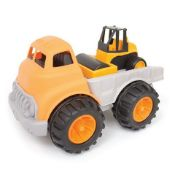 + VAT Brand New Big Play Truck Construction Engineering Brigade Vehicle Set - Ideal For Sandpit