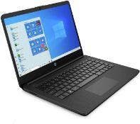 "+ VAT Grade A HP 14S-FQ0004na Laptop - AMD Ryzen 3 Upto 3.5GHZ Boost - 4GB RAM - 128GB SSD - 14"""