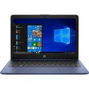 "+ VAT Grade A HP Stream 11-AK0014na Laptop - Intel Celeron N4020 Boosts Up to 2.8Ghz - 11.6"" Screen"
