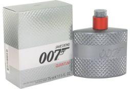 + VAT Brand New James Bond 007 Quatum EAU De Toilette Vaporuateur 30 ml