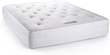 + VAT Brand New Fairford Cotton 1000 King Size Mattress - Provides Excellent Orthopaedic Support -