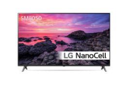 + VAT Grade A LG49SM8050PLC 4K Nano Cell TV