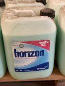 + VAT Grade A Pallet 12 x 10 Litres Horizon Deosoft Iris Professional Autodose Fabric conditioner