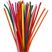 + VAT Grade A Box Of Arts & Crafts Items Including Flo Stems-Foam Numbers-Peel 'N' Stick Shapes-