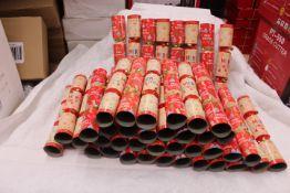+ VAT Grade A Box Forty Six Christmas Crackers