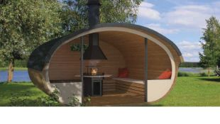 + VAT Brand New 16.00m Sq Spruce Grillhouse Relax Open - 235 x 400 x 400cm - 42mm Thickness -