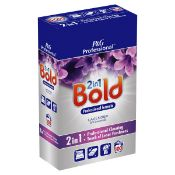 + VAT Brand New Bold Professional Washing Powder - Lavender & Camomile - Great Cleaning Results