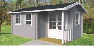 Brand New 61.64m Sq Spruce Bristol Garden House