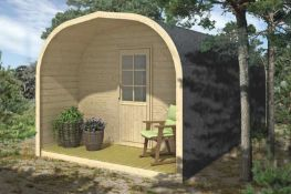 Brand New Spruce Camping Pod Suite