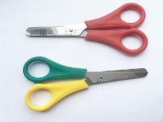 + VAT Grade A Box Of 84 Right Handed & 12 Left Handed 5 Inch Ruler Scissors