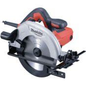 + VAT Brand New Makita M5802/2 190mm Circular Saw 240v - 1050W - 30mm Bore Diameter - Rear Dust