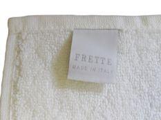 + VAT Brand New Frette Italian Bath Mat - 75 x 50cm - White