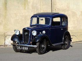 1937 Austin Seven Ruby Current registered keeper since 1972