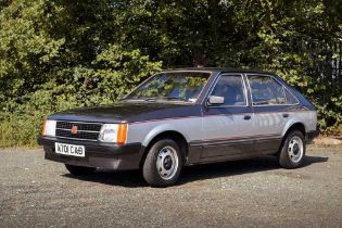 1984 Vauxhall Astra L 1300 S Celebrity No Reserve - Only c.56,000 Miles From New