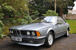 1985 BMW 635CSi Only 54,000 miles and One Owner From New